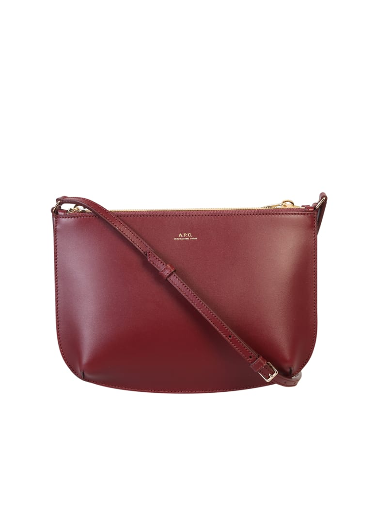 A.P.C. Crossbody Bag - Brown