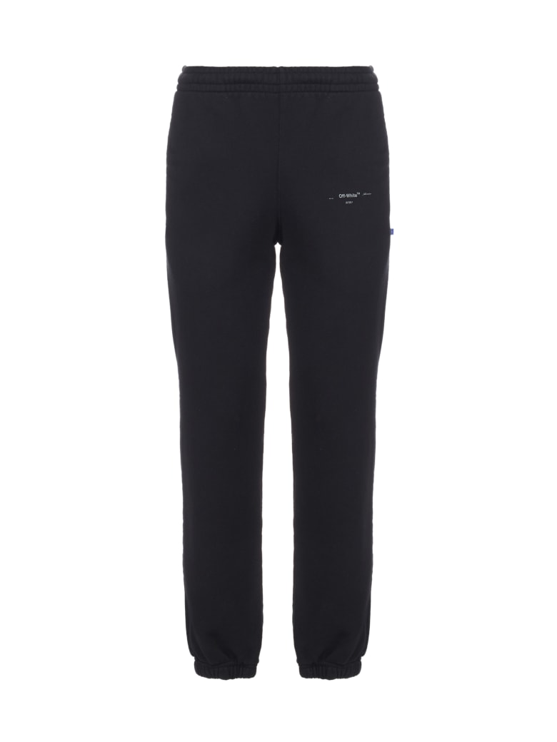 Off-White Trousers - Black silver