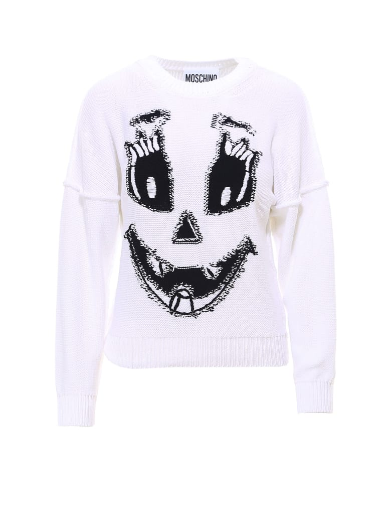Moschino Sweater - White