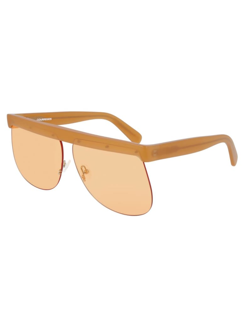 Courrèges CL1901 Sunglasses - Brown Brown Orange