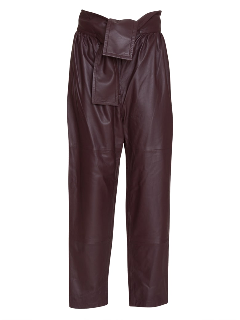 Zimmermann Resistance Leather Obi Pant