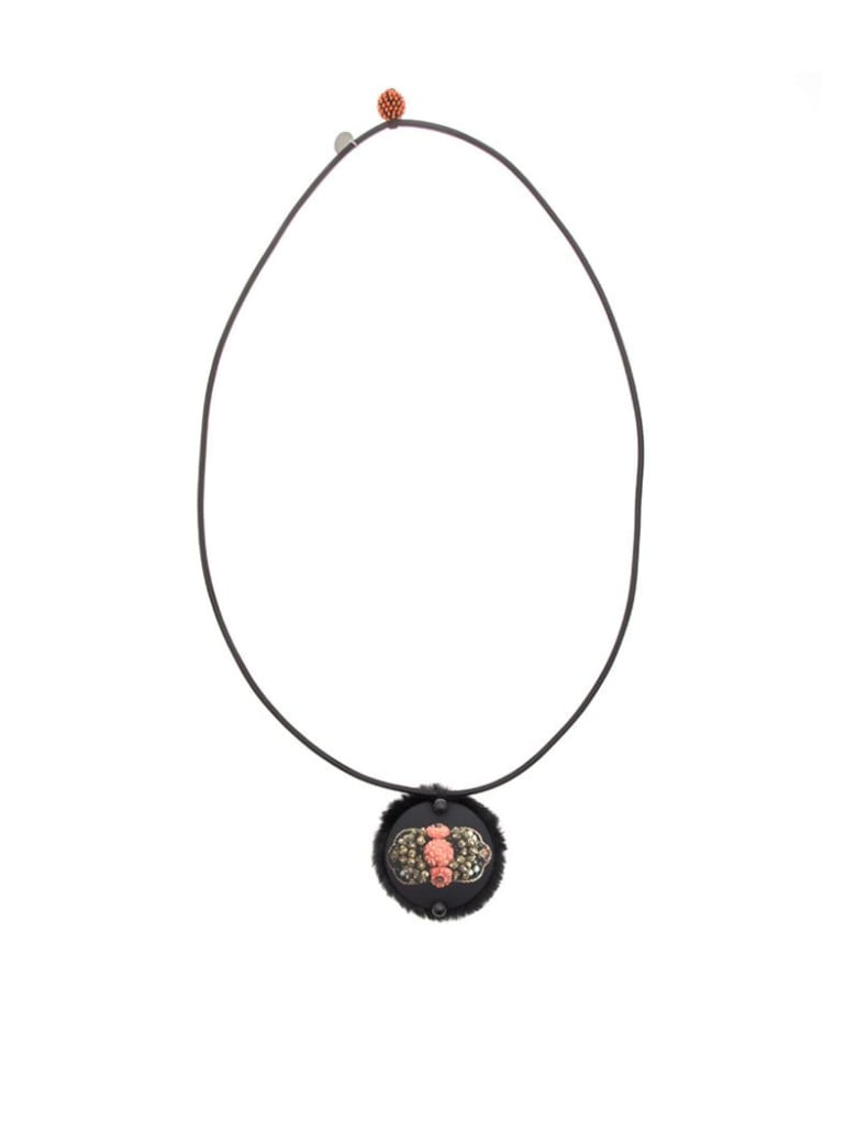 Maria Calderara - Necklace - Black