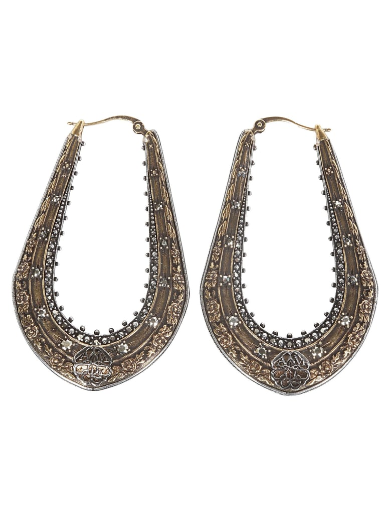 Alexander McQueen Earrings - Brass