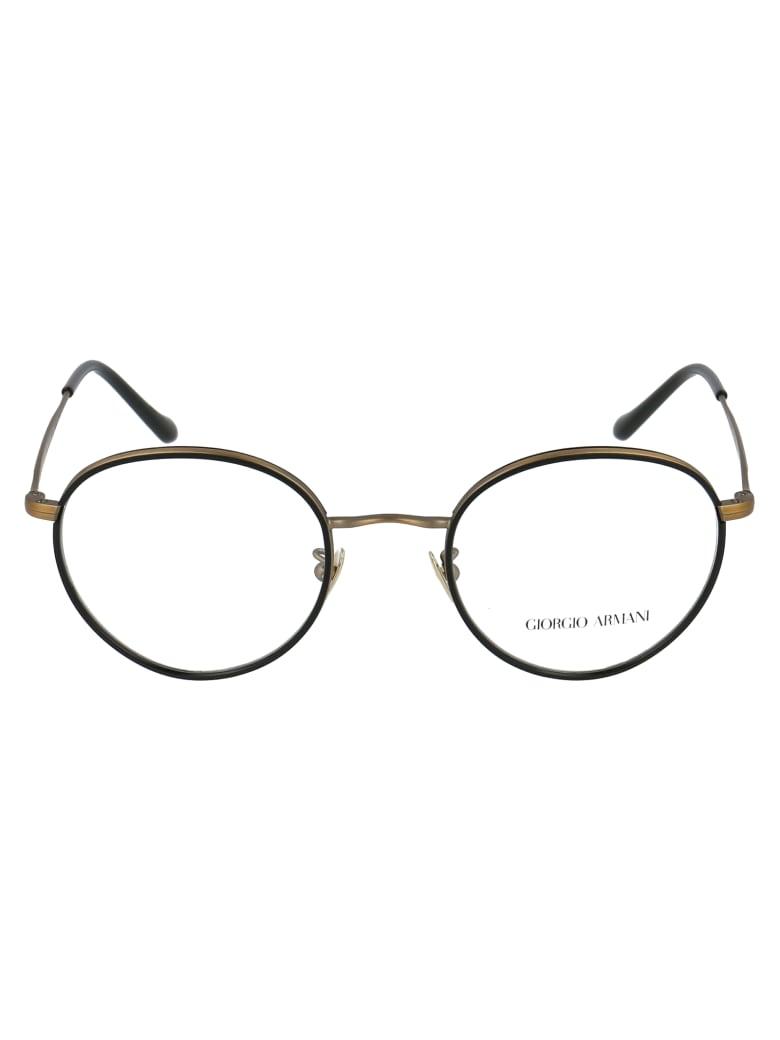 Giorgio Armani Eyewear - Black/matte Brushed Gold