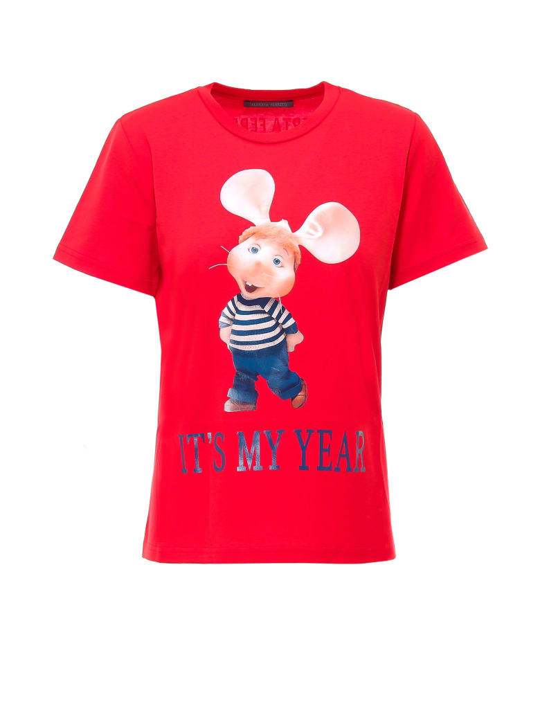 Alberta Ferretti T-shirt - Red