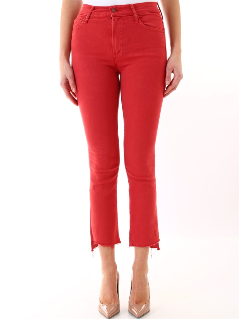 Mother Red Denim - Red