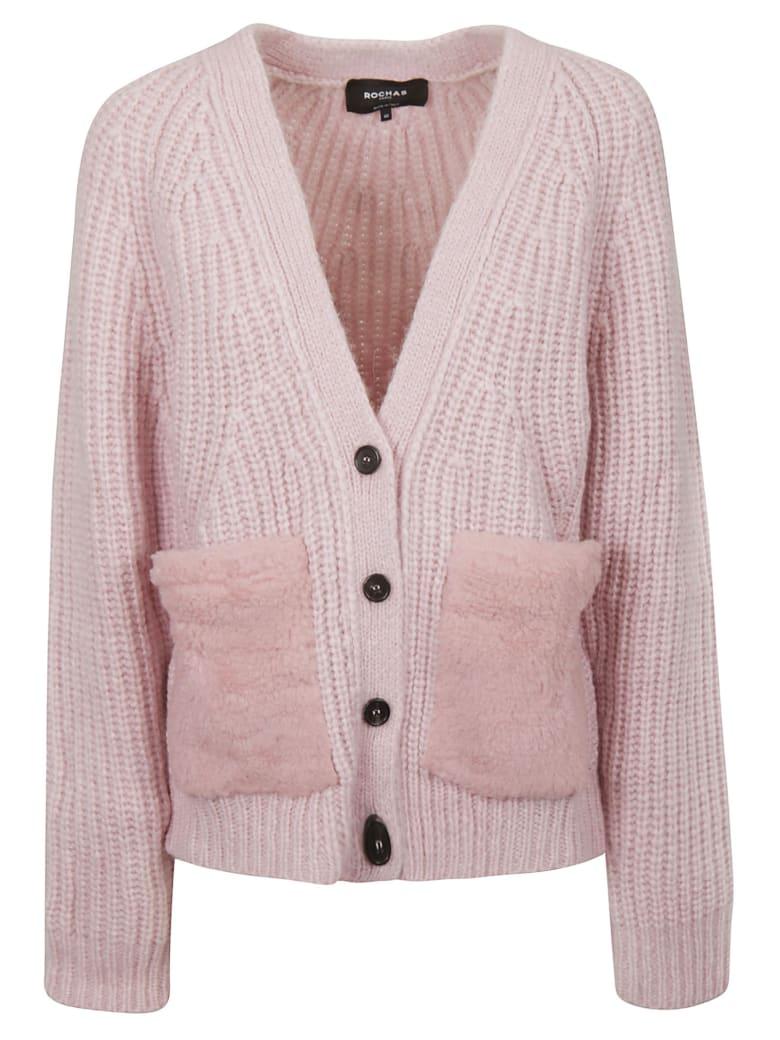 Rochas Buttoned Cardigan - Light pink