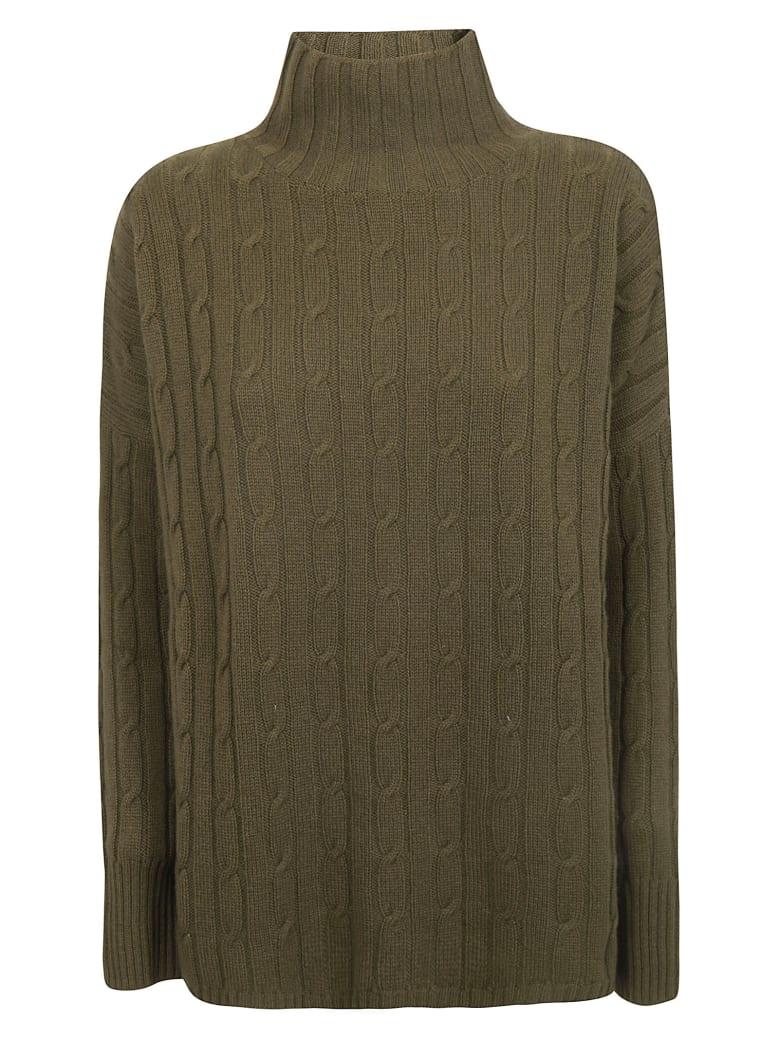 alyki Knitted Sweater - Military Green