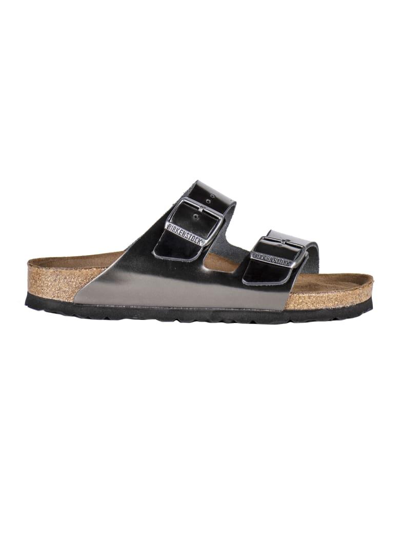 Birkenstock Double Strap Sandals - Grey