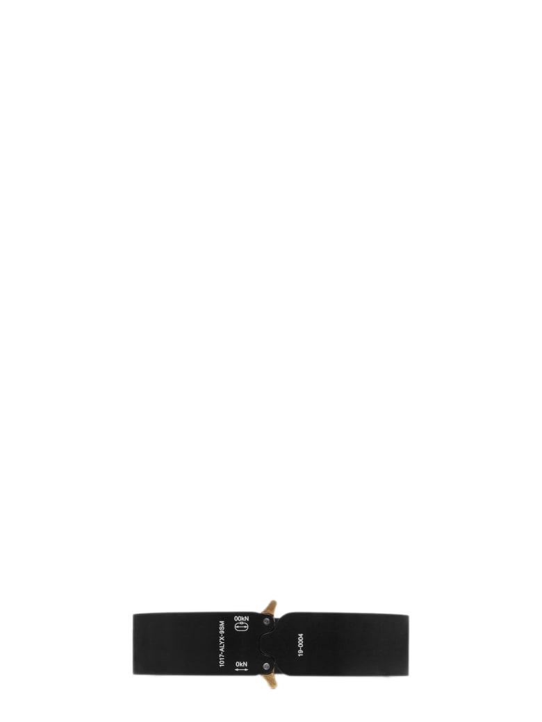 1017 ALYX 9SM Buckle Bracelet 1 L - Nero