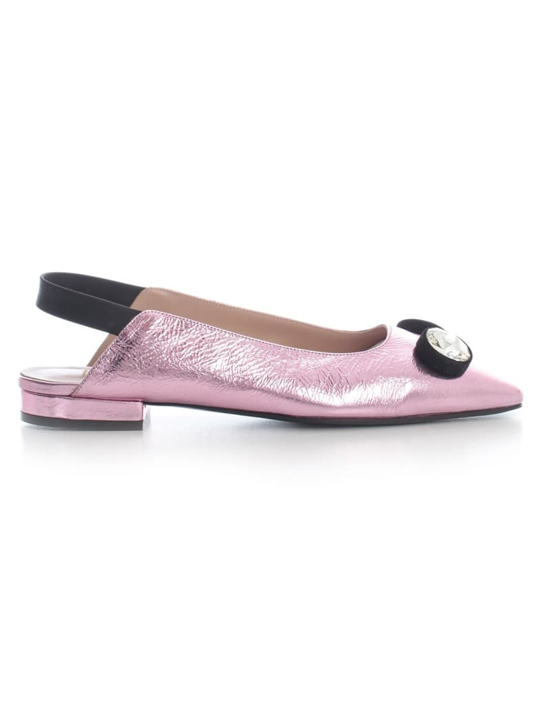Coliac Slippers Chanel W/crystals - Pink