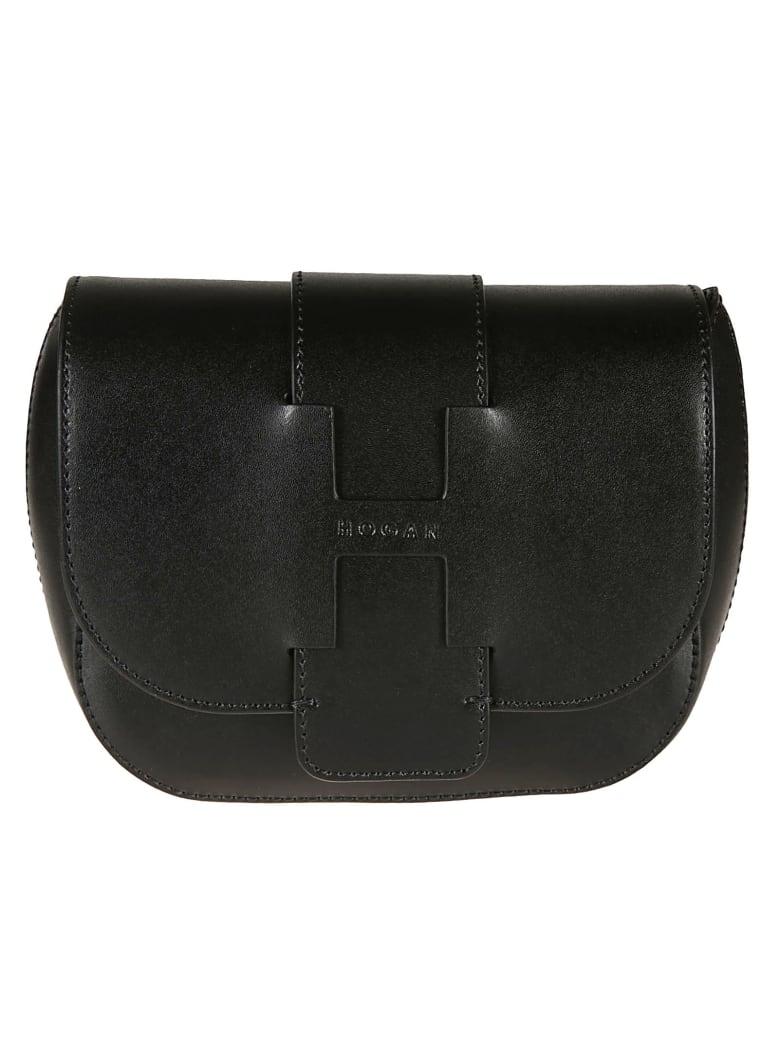 Hogan Slide-in Shoulder Bag - black