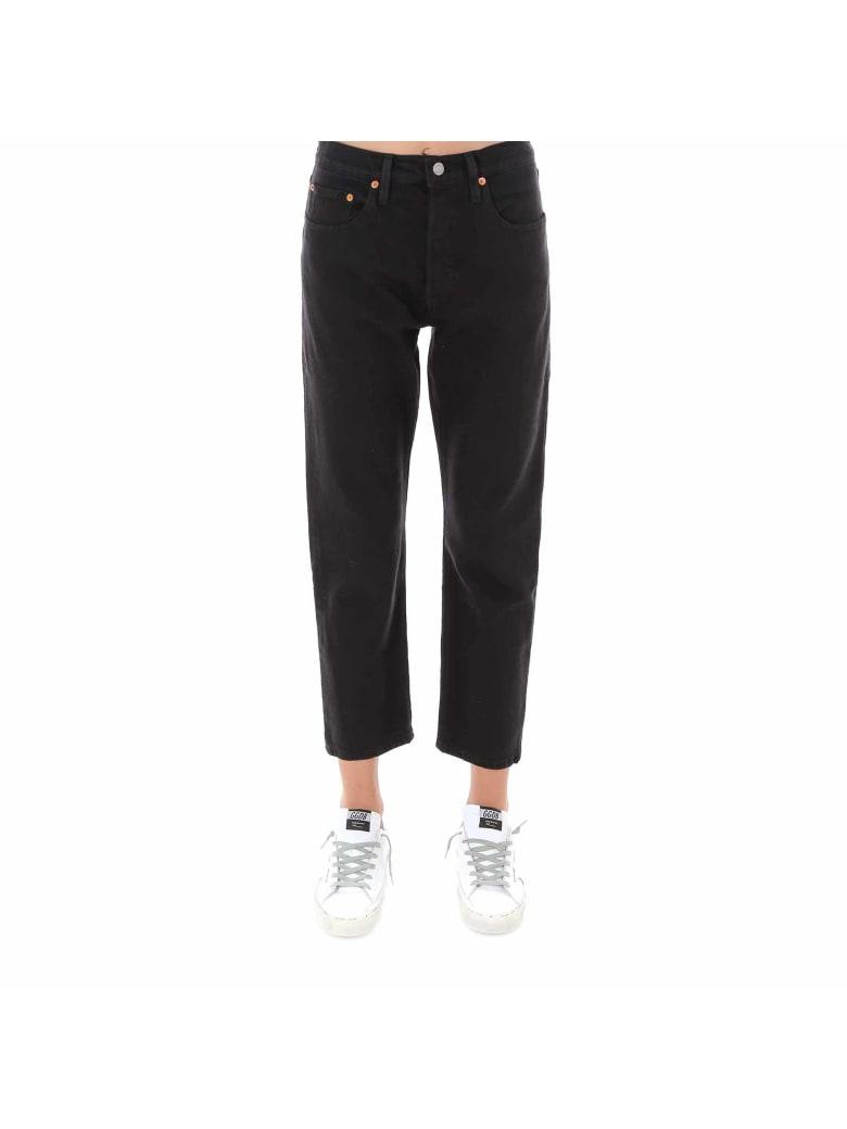 Levi's 501 Original Cropped Jeans - Black