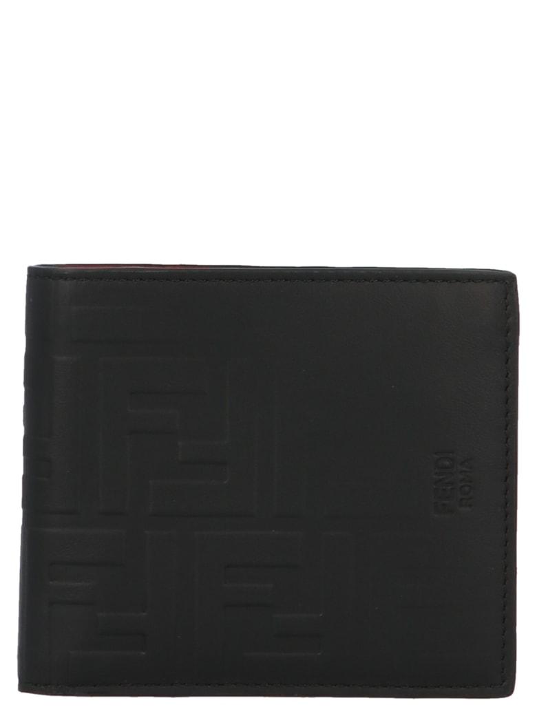 Fendi 'ff' Wallet - Black