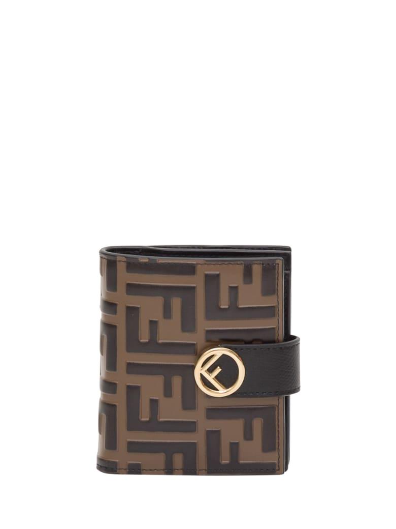 Fendi Monogram Wallet - Nero