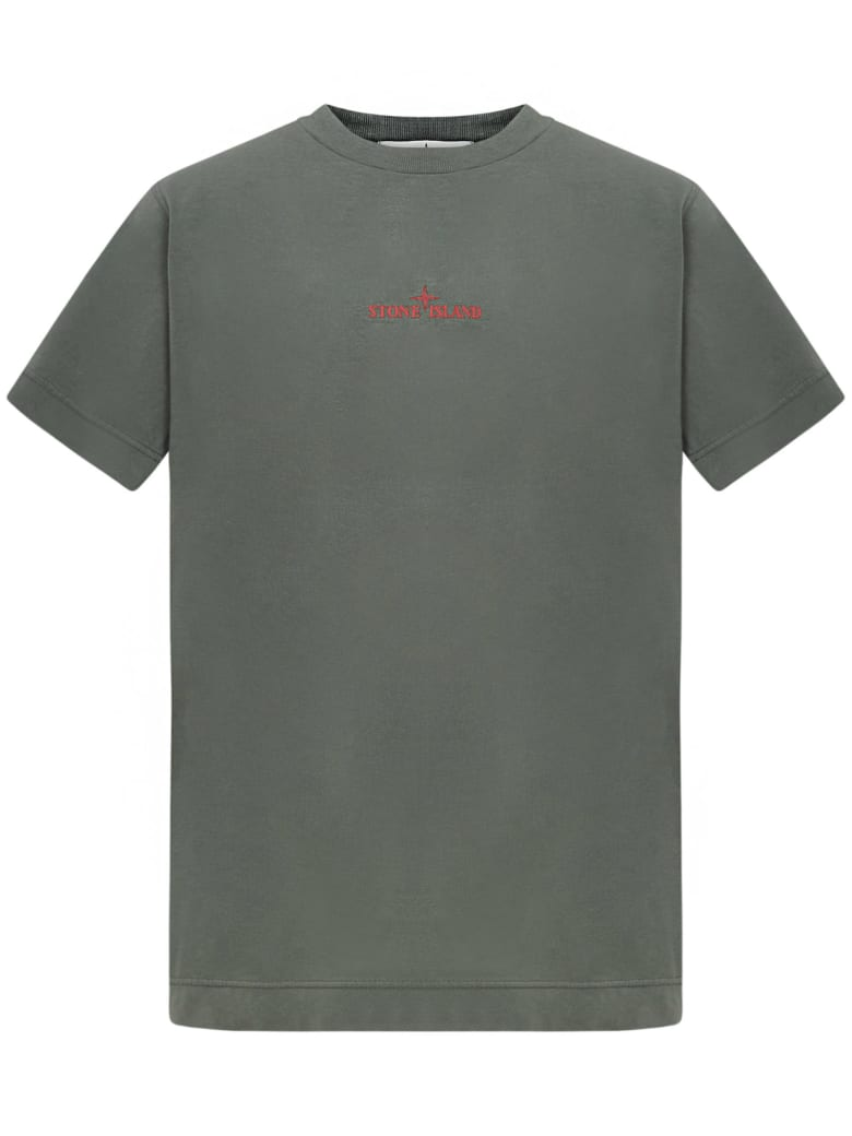Stone Island Junior T-shirt - Green