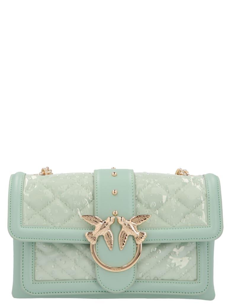 Pinko 'love Mini Soft Rain' Bag - Green