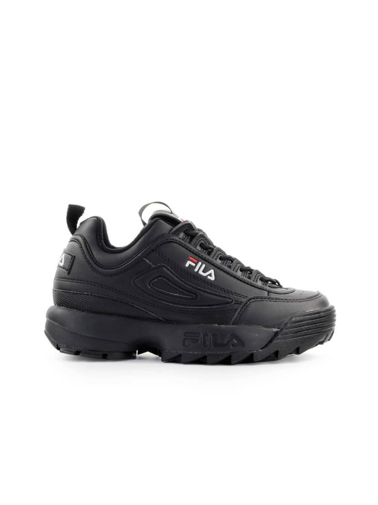 Best price on the market at italist Fila Fila Disruptor Low Wmn Black Sneaker  Fila Fila Disruptor Low Wmn Black Sneaker