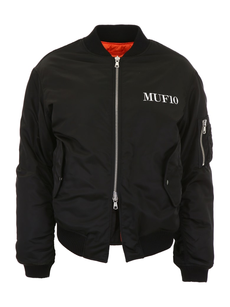 MUF10 Printed Bomber Jacket - BLACK (Black)