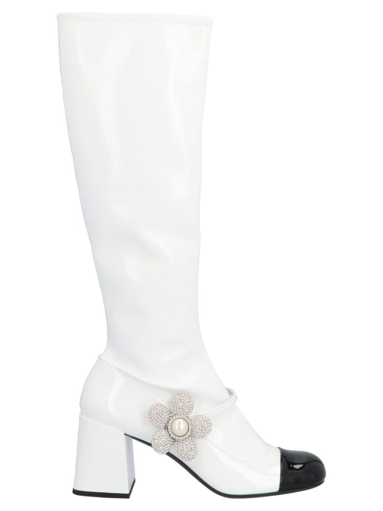 Miu Miu Shoes - Bianco nero