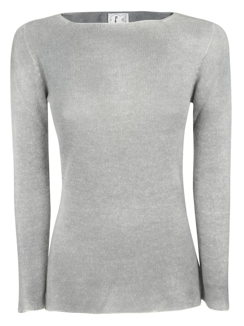 f cashmere Long-sleeved Jumper - Cloud
