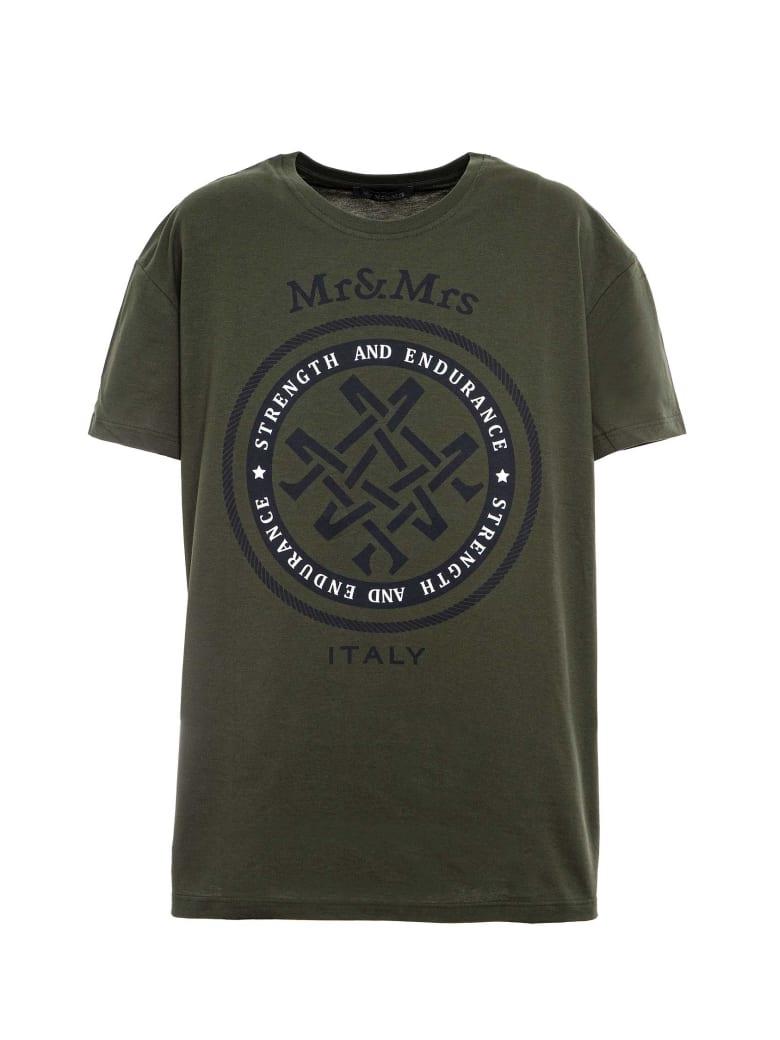 Mr & Mrs Italy Unisex Oversized T-shirt - GREEN