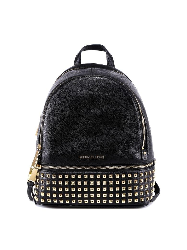 Michael Kors Rhea Zip Backpack - Black