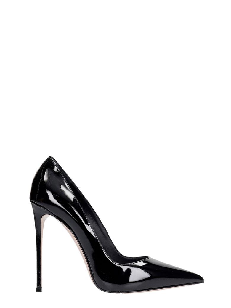 Le Silla Deco Eva 120 Pumps In Black Patent Leather - black