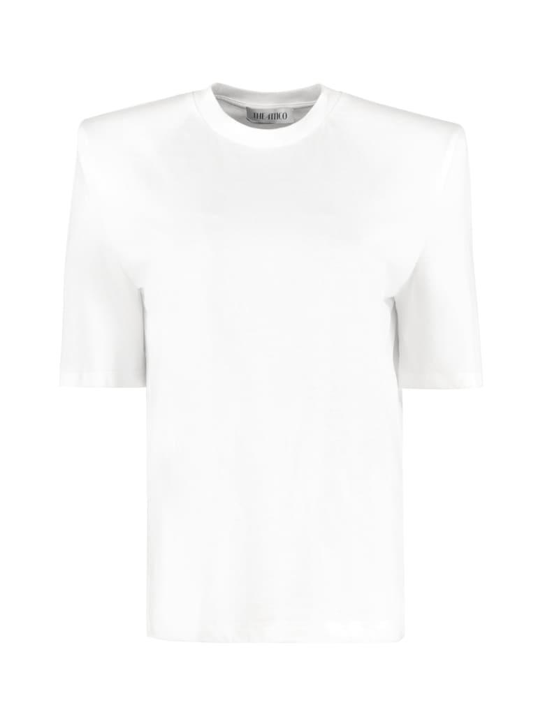 The Attico Cotton Crew-neck T-shirt - White