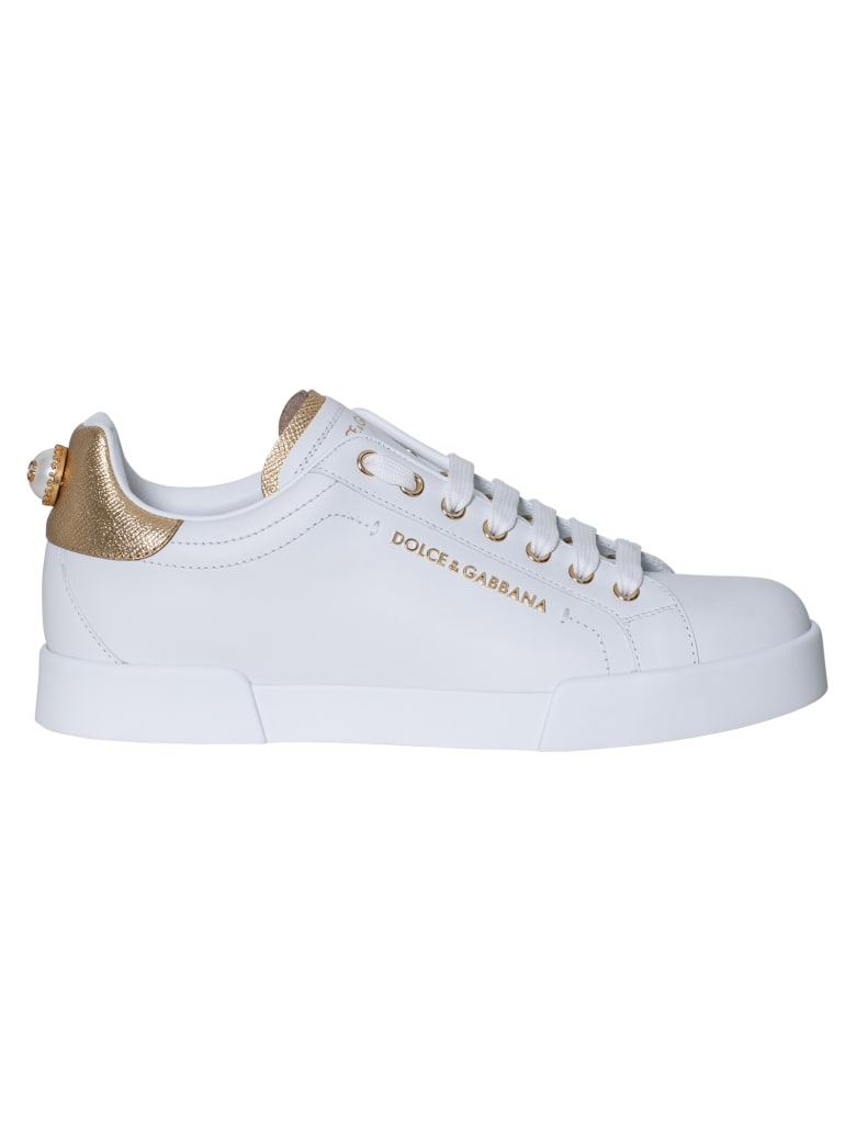 Dolce & Gabbana Sneaker Classica - Bianco Oro