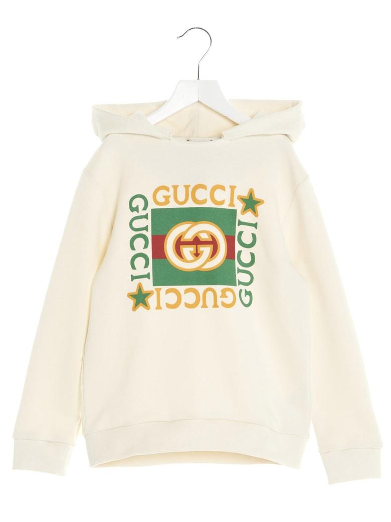 Gucci Hoodie - White Multi