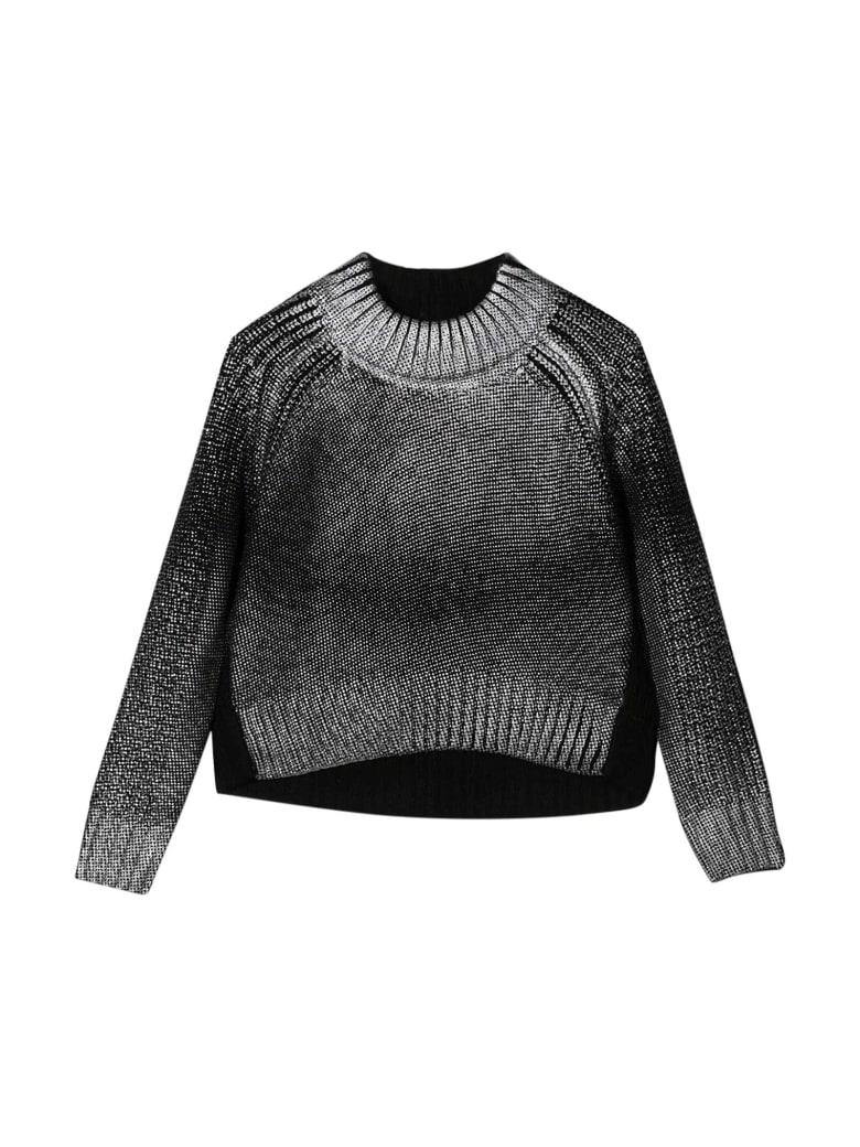 Diesel Black Crewneck Sweater Teen