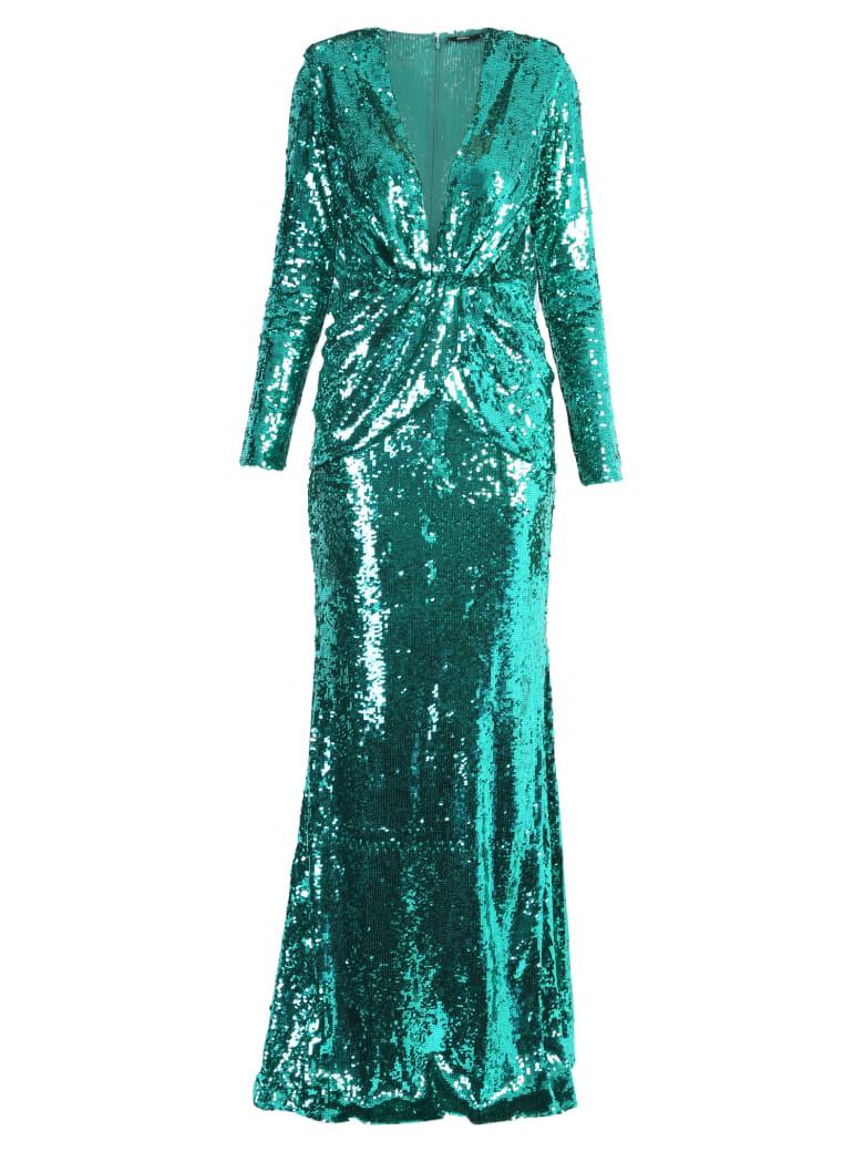 Amen Long Dress - Green