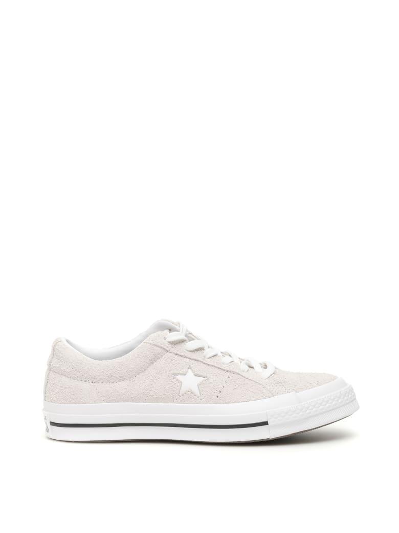 Converse One Star Sneakers - WHITE WHITE WHITE (White)