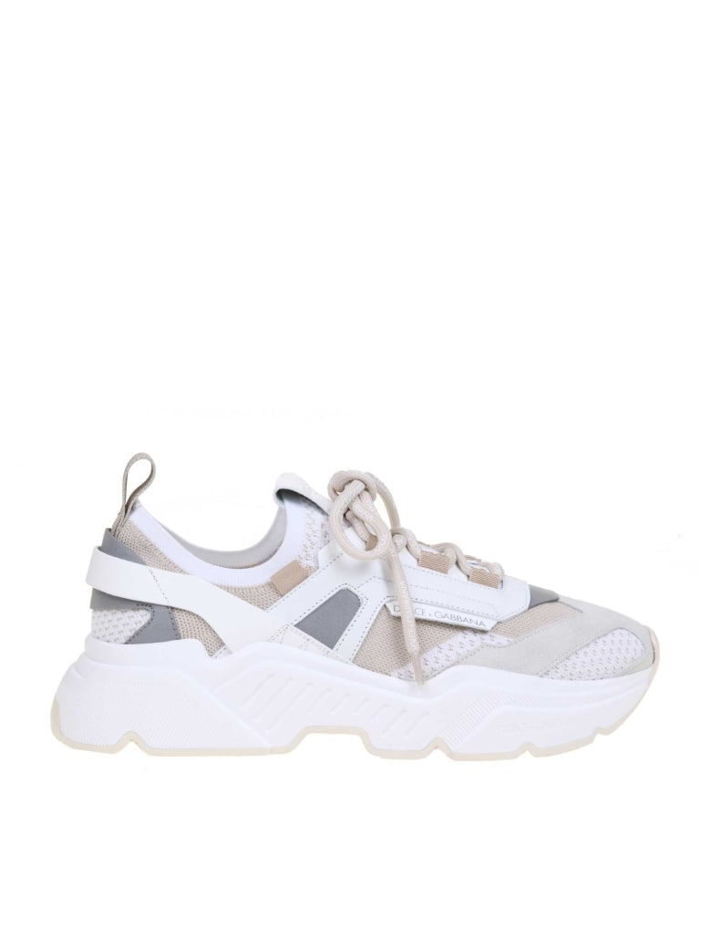 Dolce & Gabbana Daymaster Sneaker In Stretch Jersey