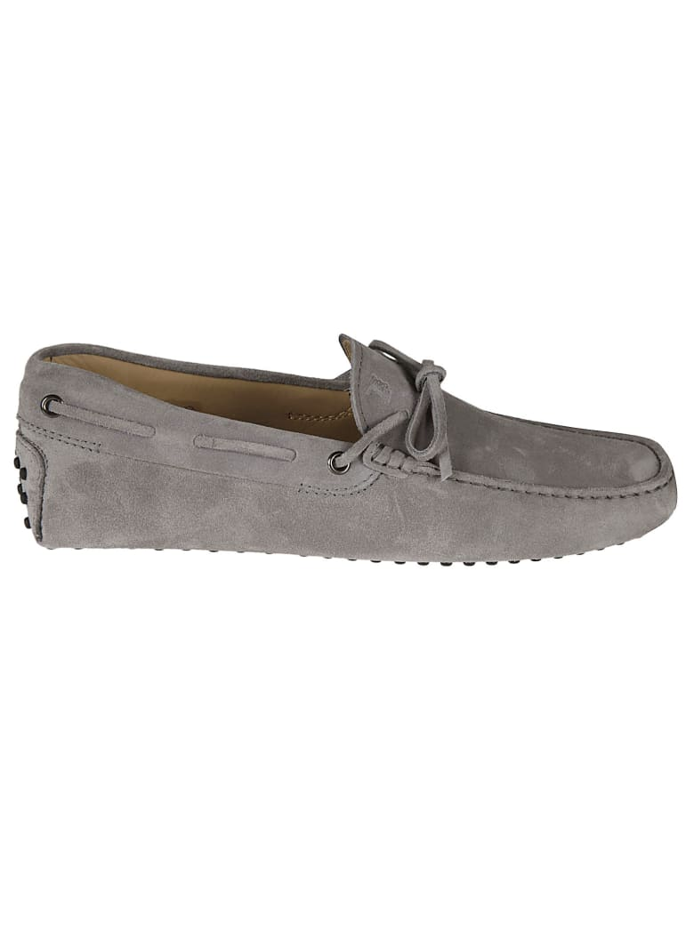Tod's New Gommini Driving Shoes - pearl light grey