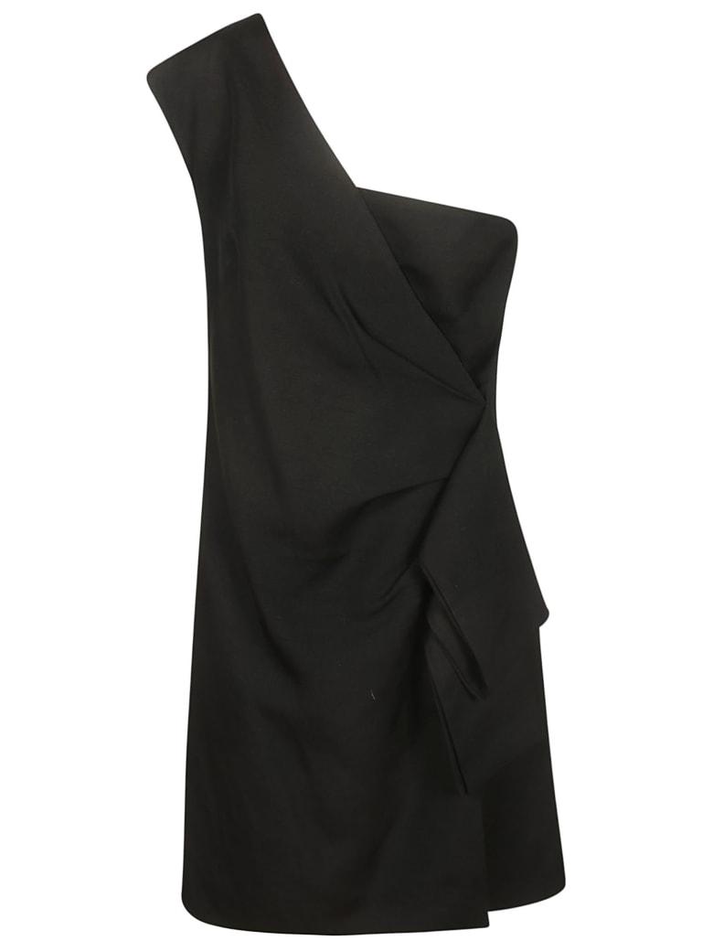 Victoria Beckham One-shoulder Dress - black
