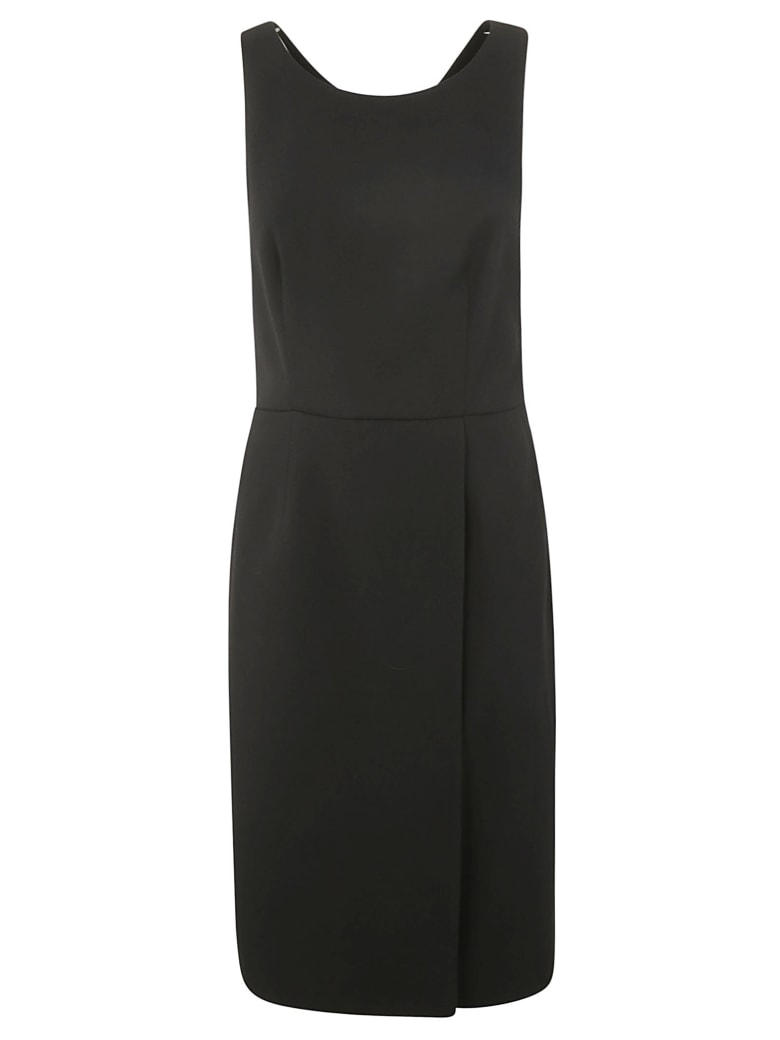Givenchy Sleeveless Straight Waist Dress - Black
