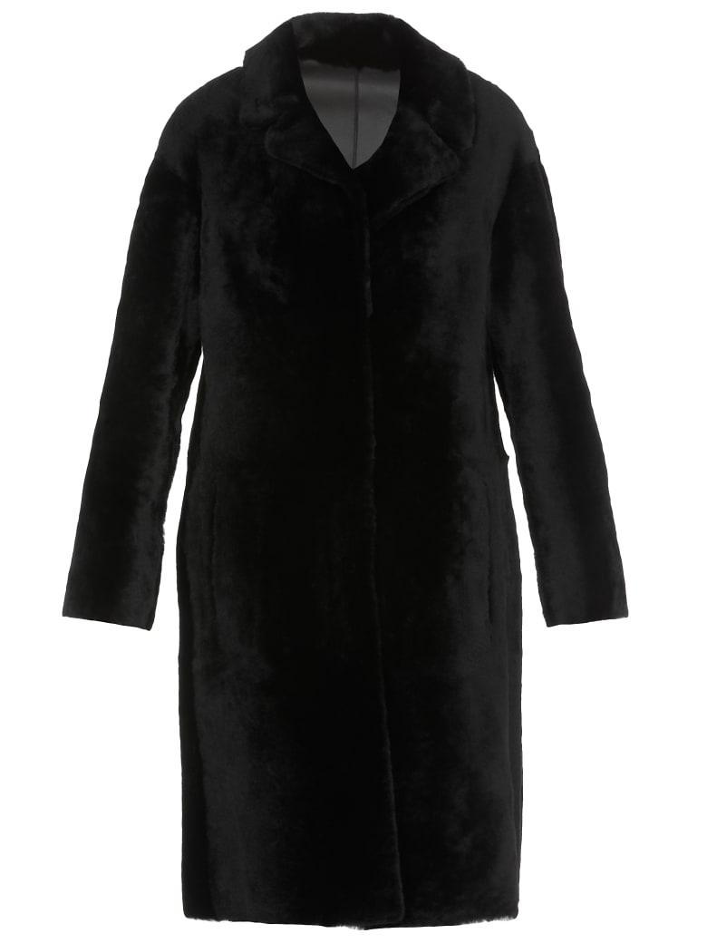 DROMe Reversible Coat - BLACK