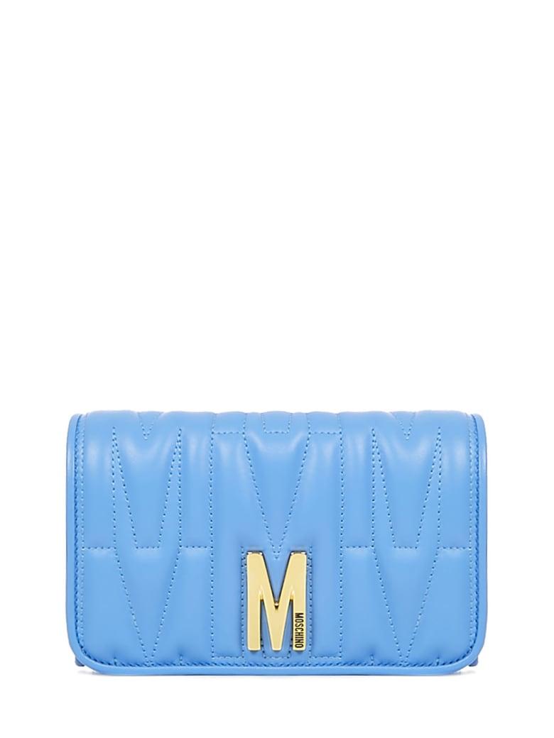 Moschino M Wallet - Light blue
