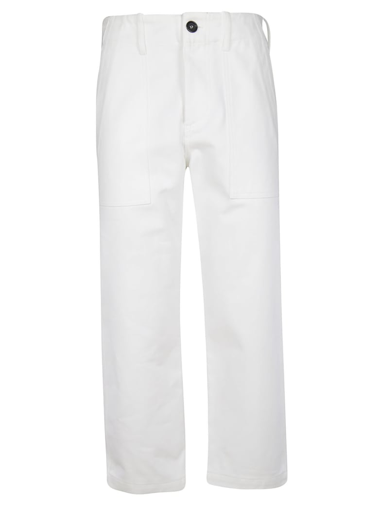 Jejia Cropped Trousers - White