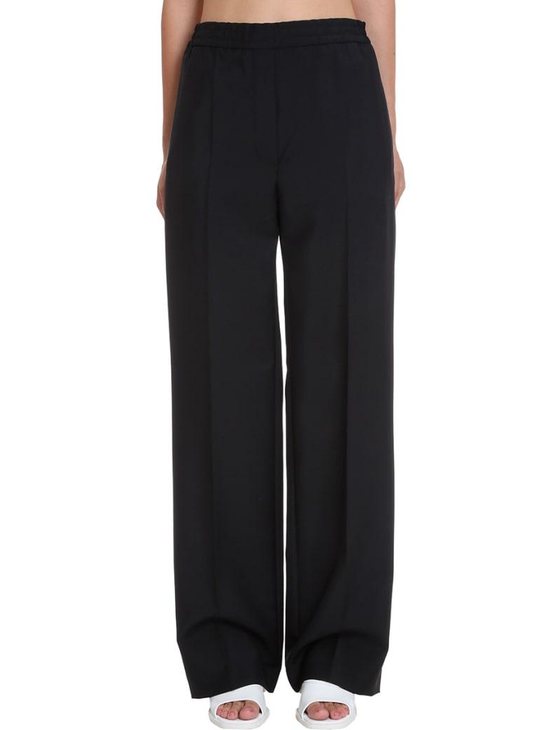 Acne Studios Pamine Who Pants In Black Cotton - black