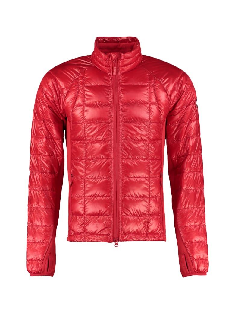 Canada Goose Hybridge Ultra-light Down Jacket - red