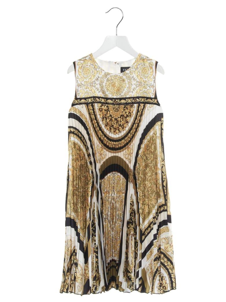 Young Versace 'barocco' Dress - Fantasia