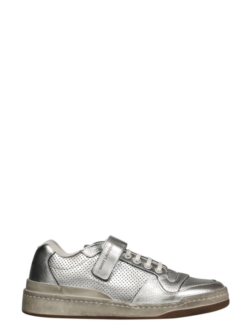 Saint Laurent Shoes - Metallic