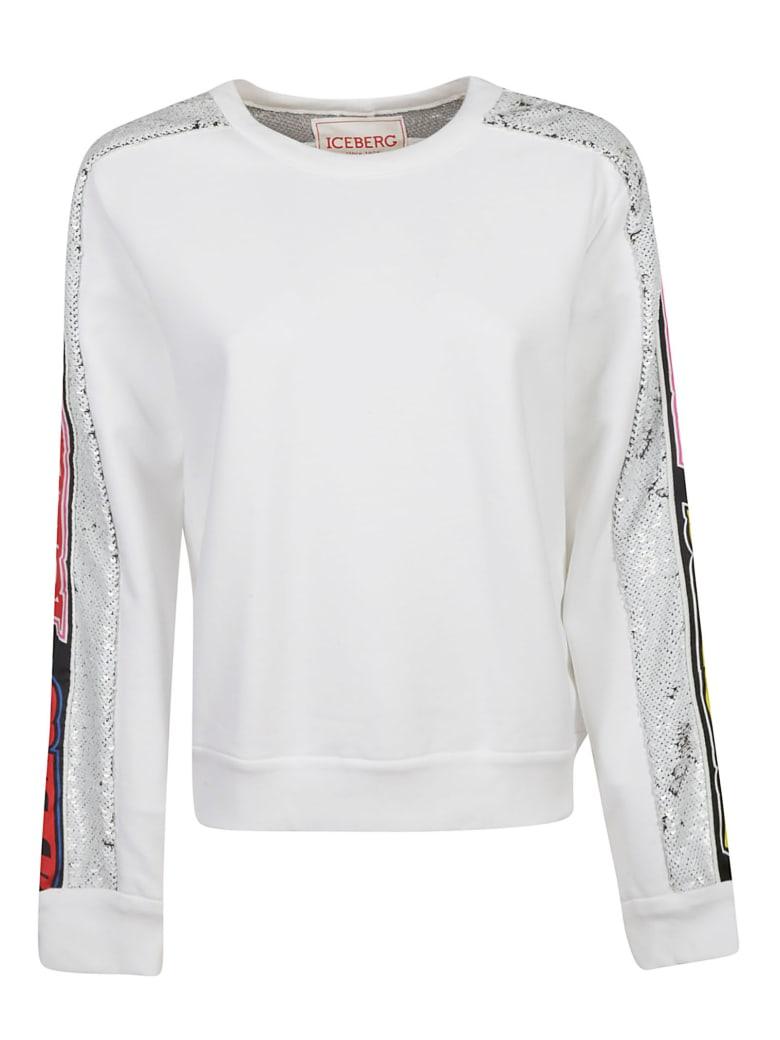 Iceberg Sequin Embroidered Jumper - White