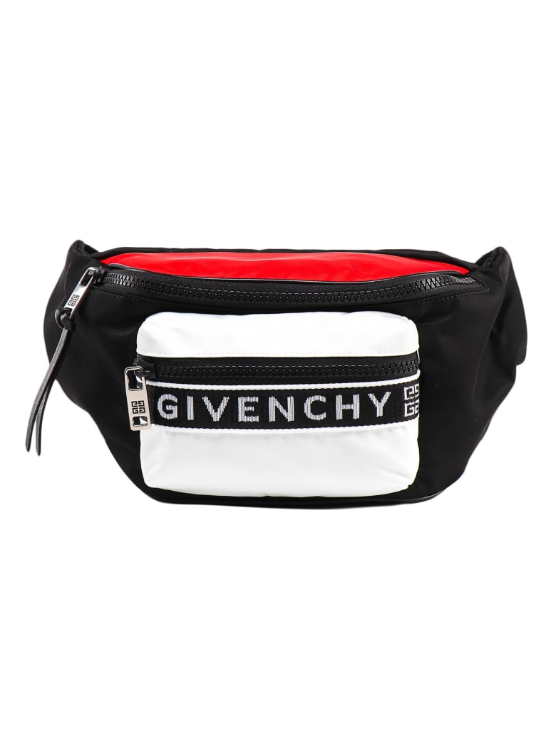 Givenchy Light 3 Bum Bag - Black/red/white