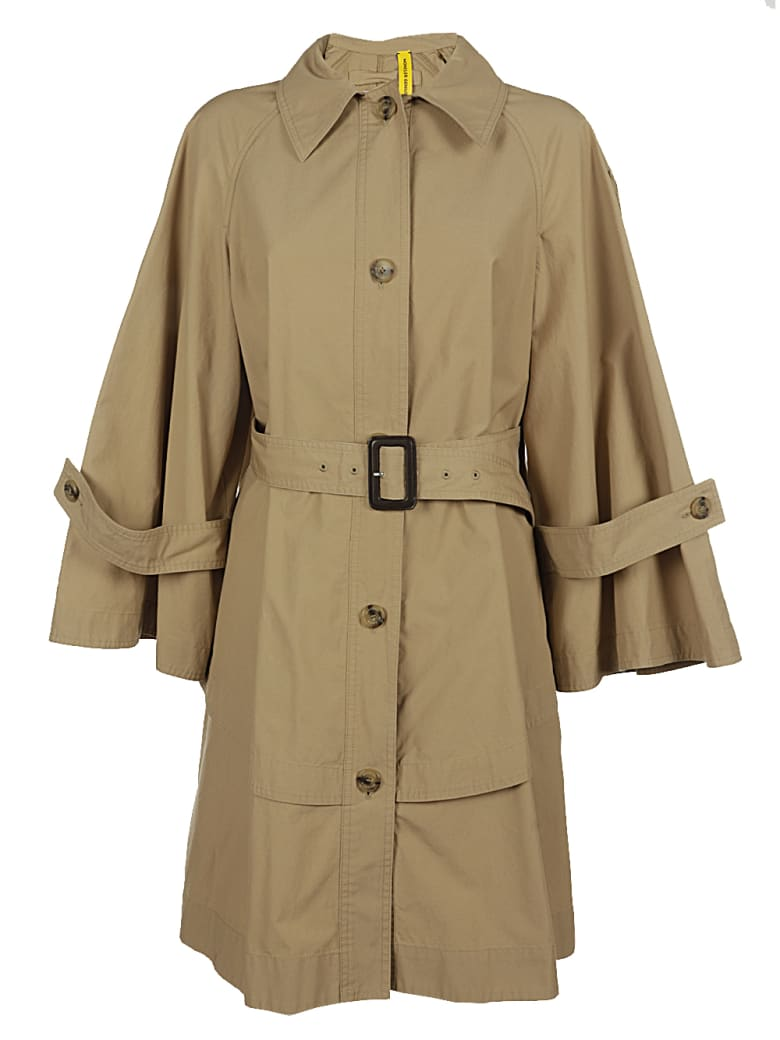 Moncler Dungeness Long Coat - Beige