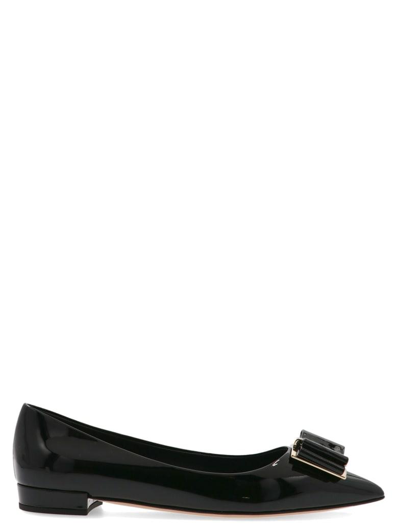 Salvatore Ferragamo 'zeri 10' Shoes - Black