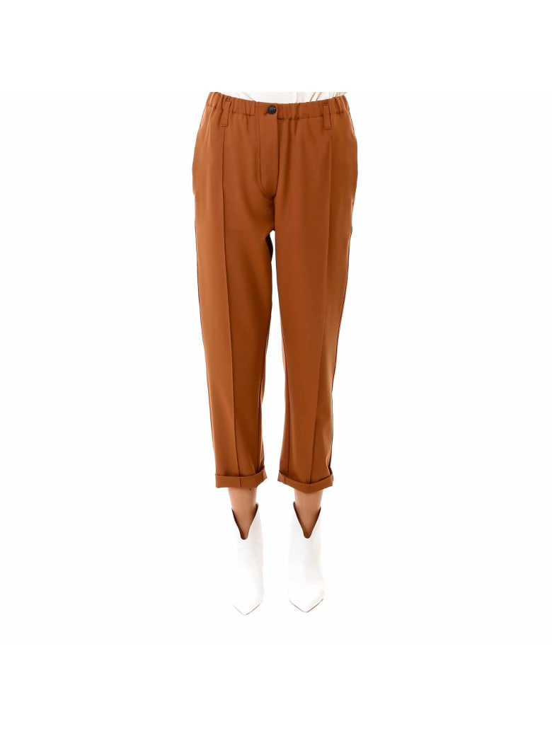 Tela Trousers - Brown